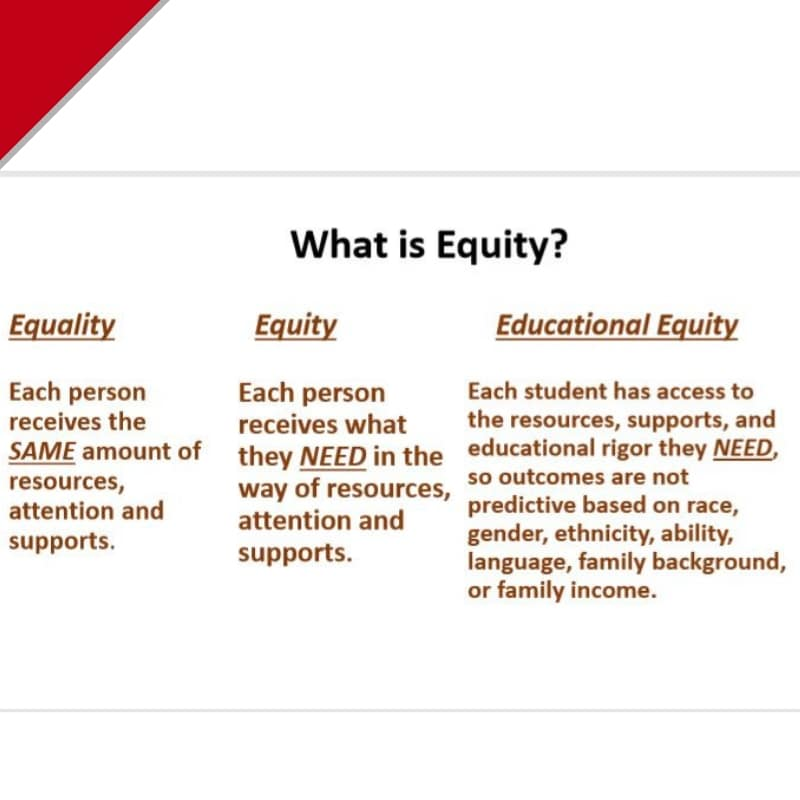 Workshop: Education Equity Presentation