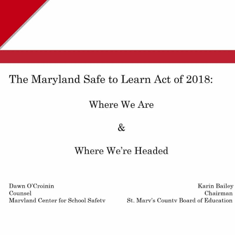 Workshop: Safe to Learn Act Presentation