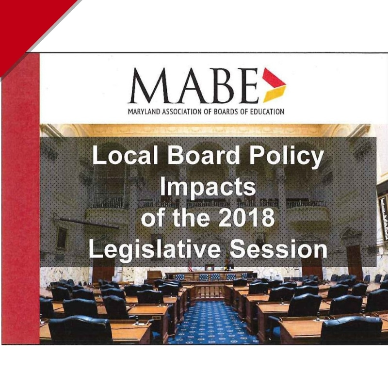 Workshop: Local Board Policy Impacts of the 18 Legislative Session