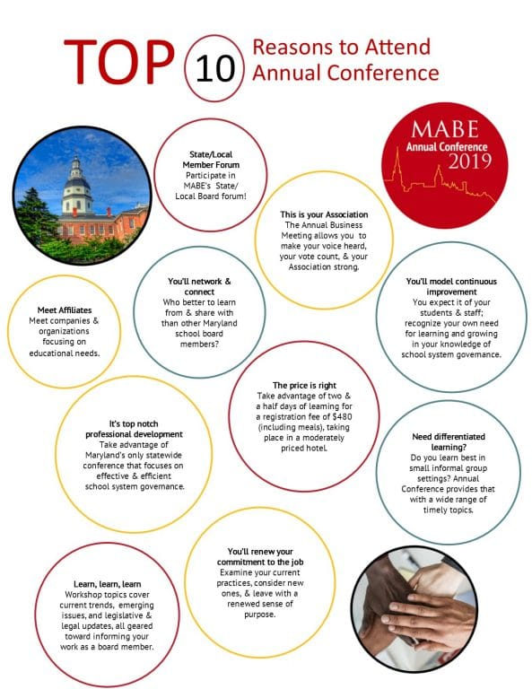 Ten Reasons to Attend