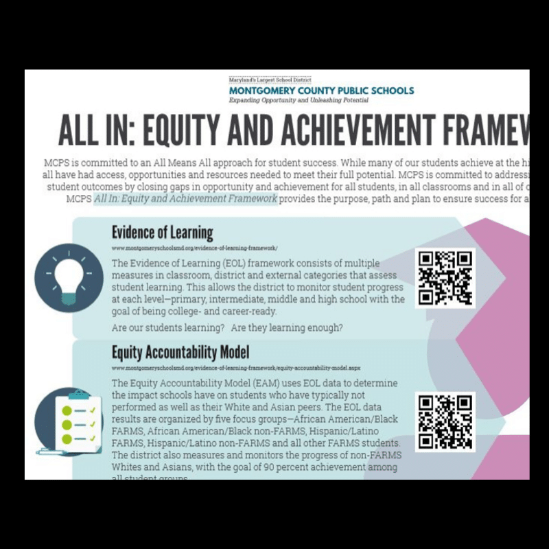 Equity and Excellence: All In