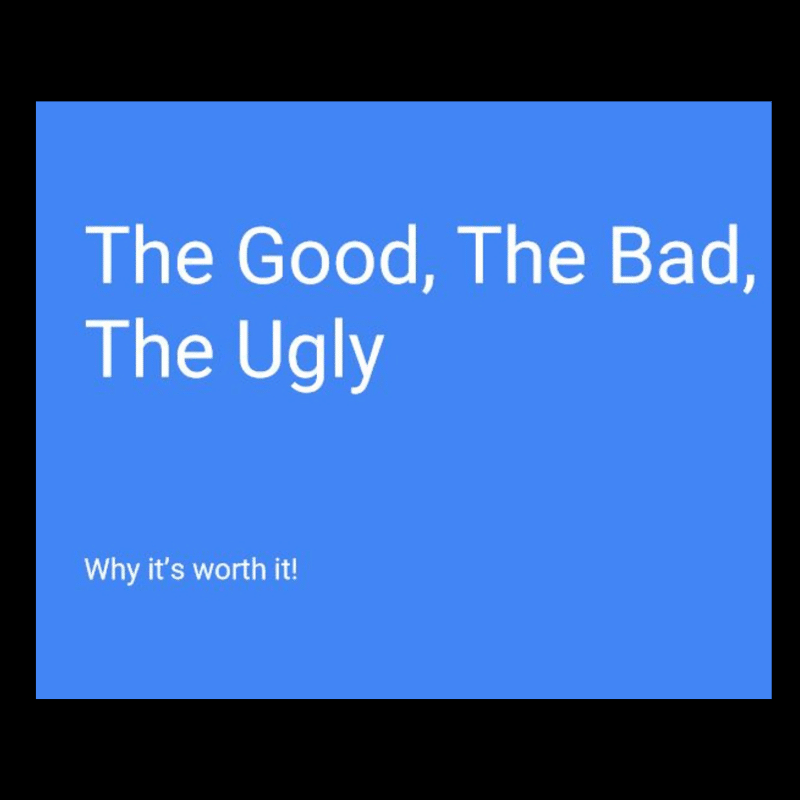 The Good, the Bad and the Ugly of Second Order Change and Why it's All Worth it!	The Good, the Bad and the Ugly of Second Order Change and Why it's All Worth it!	The Good, the Bad and the Ugly of Second Order Change and Why it's All Worth it!	The Good, the Bad and the Ugly of Second Order Change