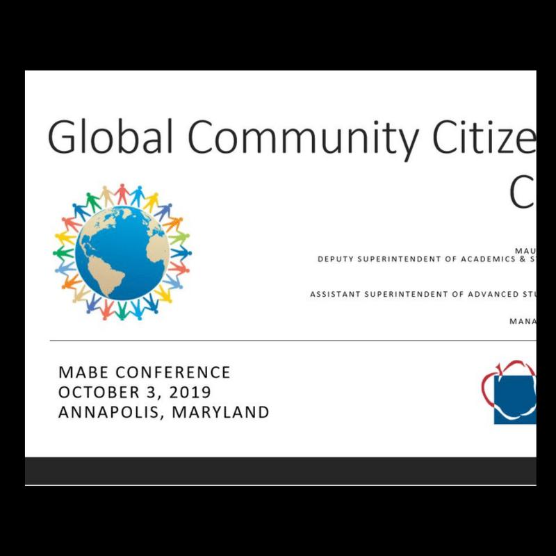 Global Community Citizenship Course