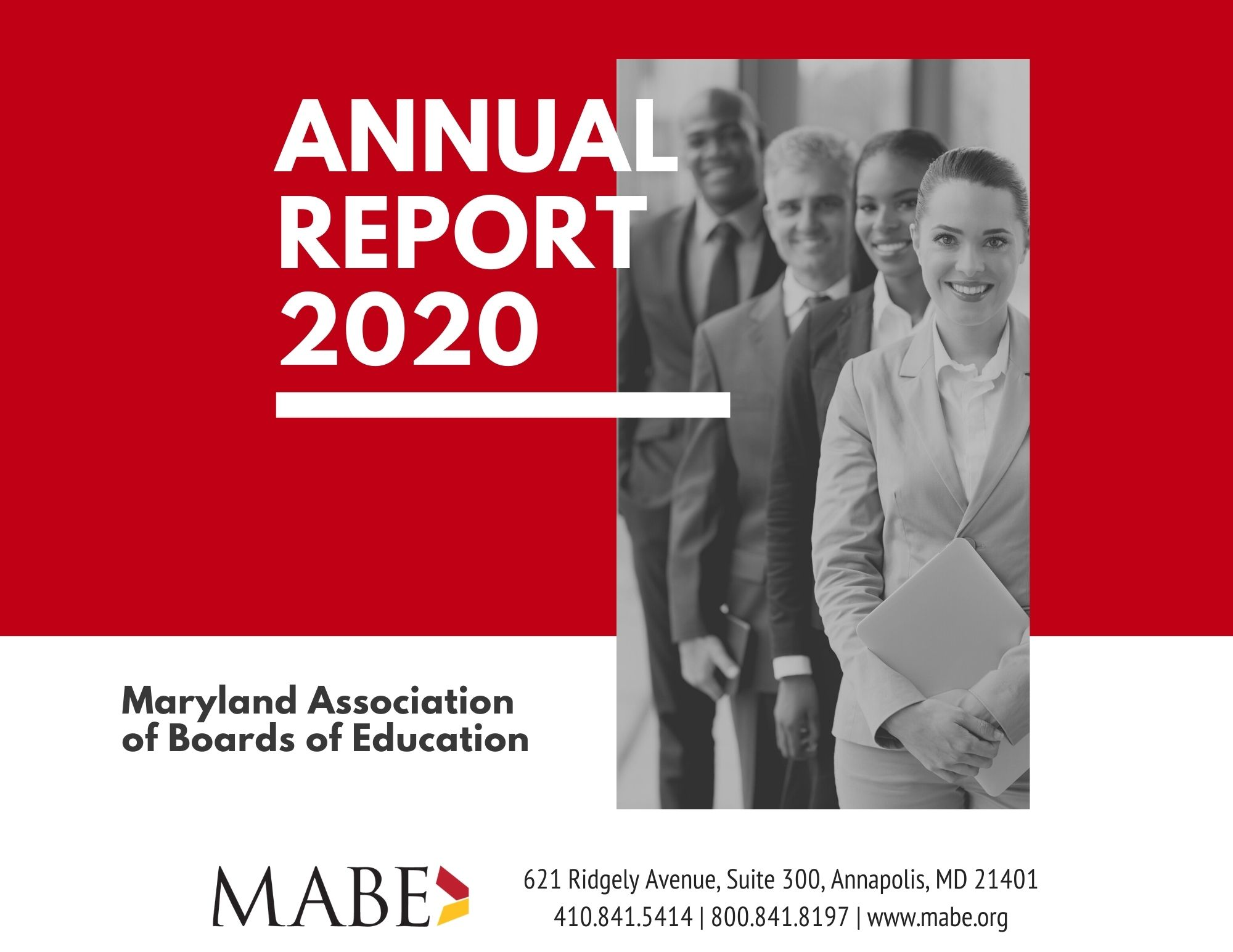 2020 Annual Report - cover